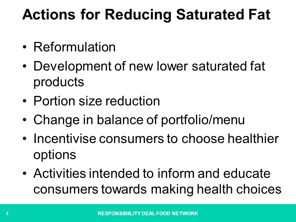 5 Framing a Pledge NEW SAT FAT PLEDGE Take into account public goal Encompasses range of actions Captures and gives credit to those already taking action Initiate new activity Accessible to the widest range of signatories RESPONSIBIILITY DEAL FOOD NETWORK