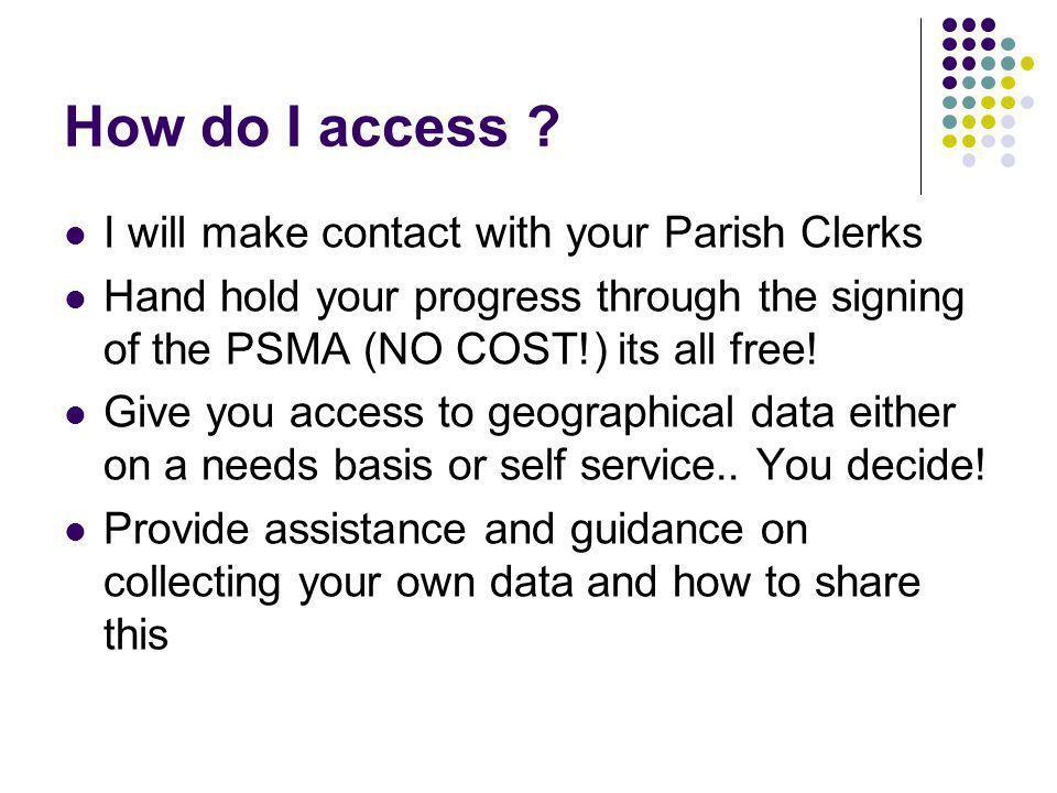 How do I access .