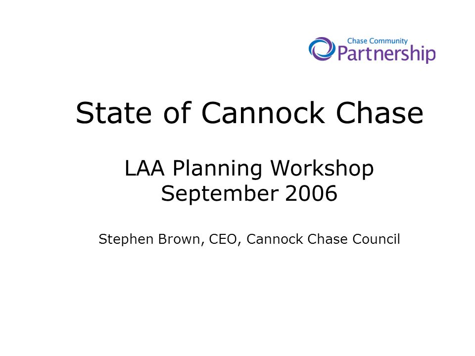 Cannock Chase is the most deprived Local Authority area within Staffordshire.