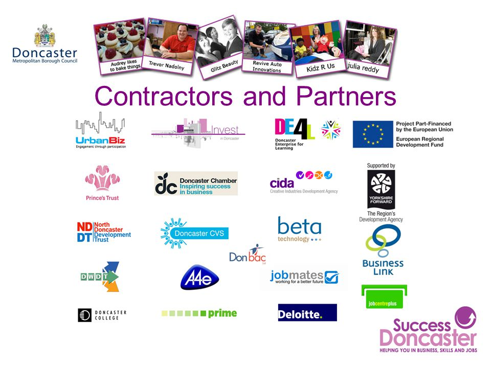 Contractors and Partners