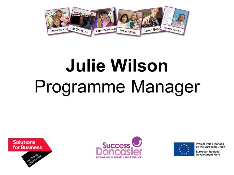 Julie Wilson Programme Manager