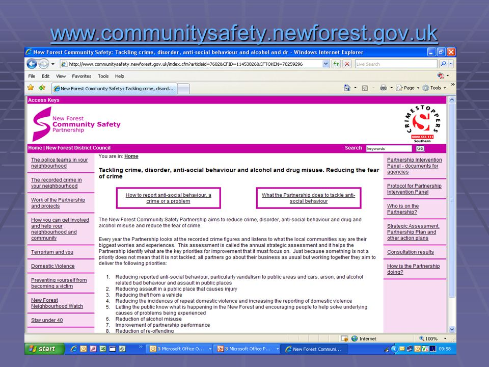 www.communitysafety.newforest.gov.uk