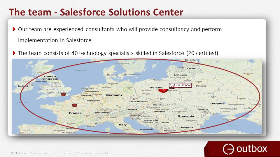 The team - Salesforce Solutions Center Our team are experienced consultants who will provide consultancy and perform implementation in Salesforce.