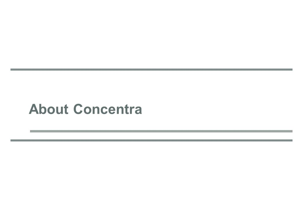 About Concentra