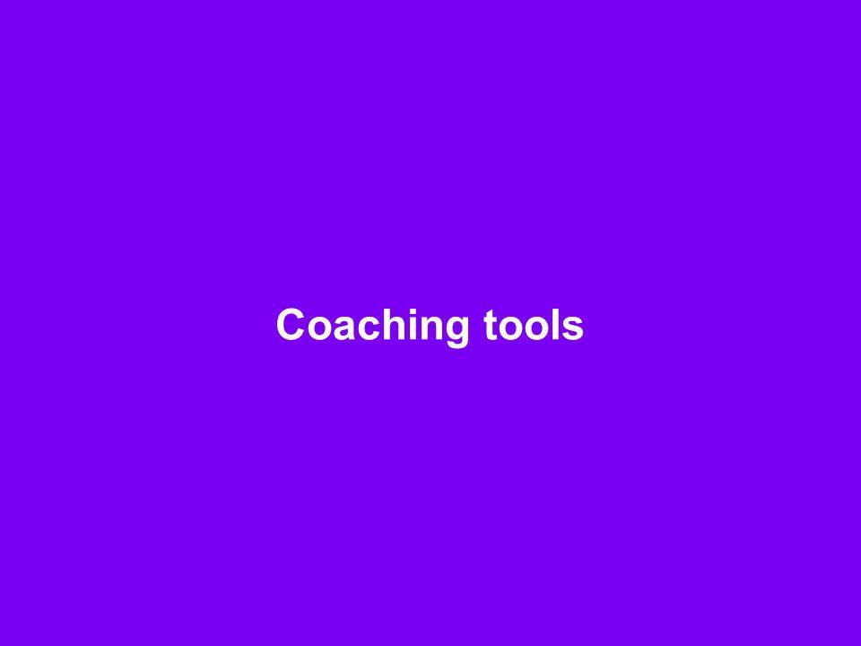 8 Coaching tools