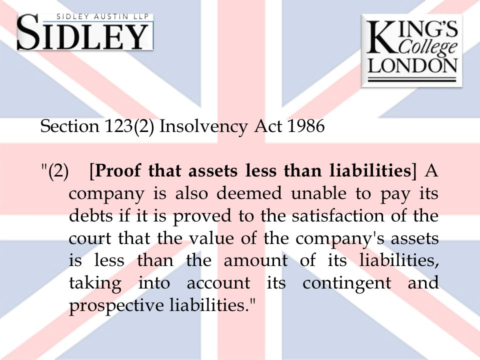 Section 123(2) Insolvency Act 1986
