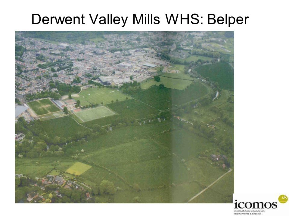 Derwent Valley Mills WHS: Belper
