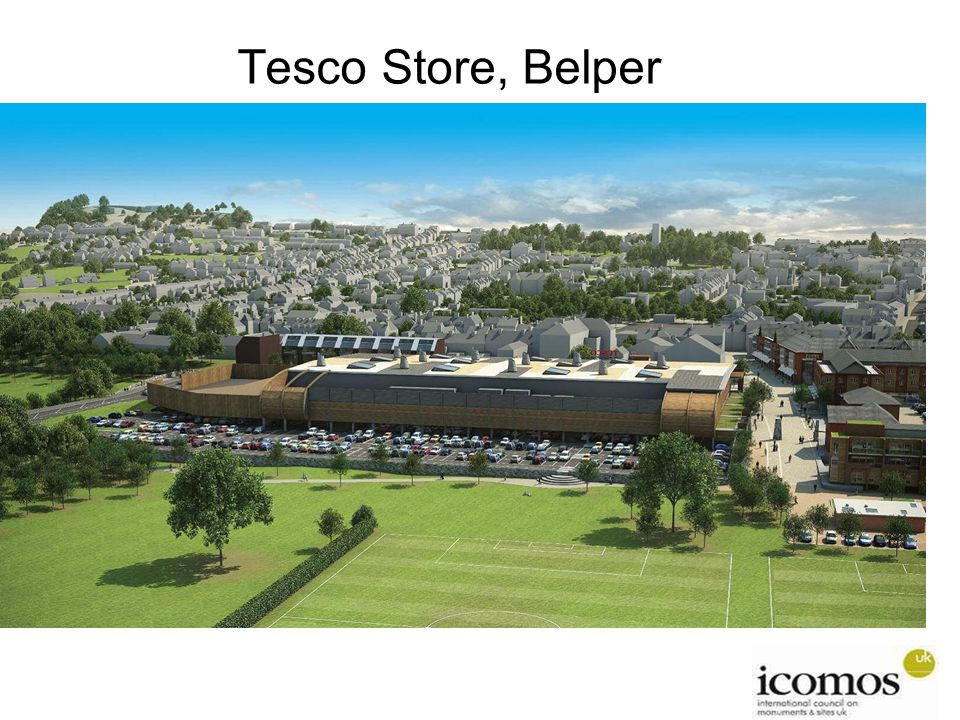 Tesco Store, Belper