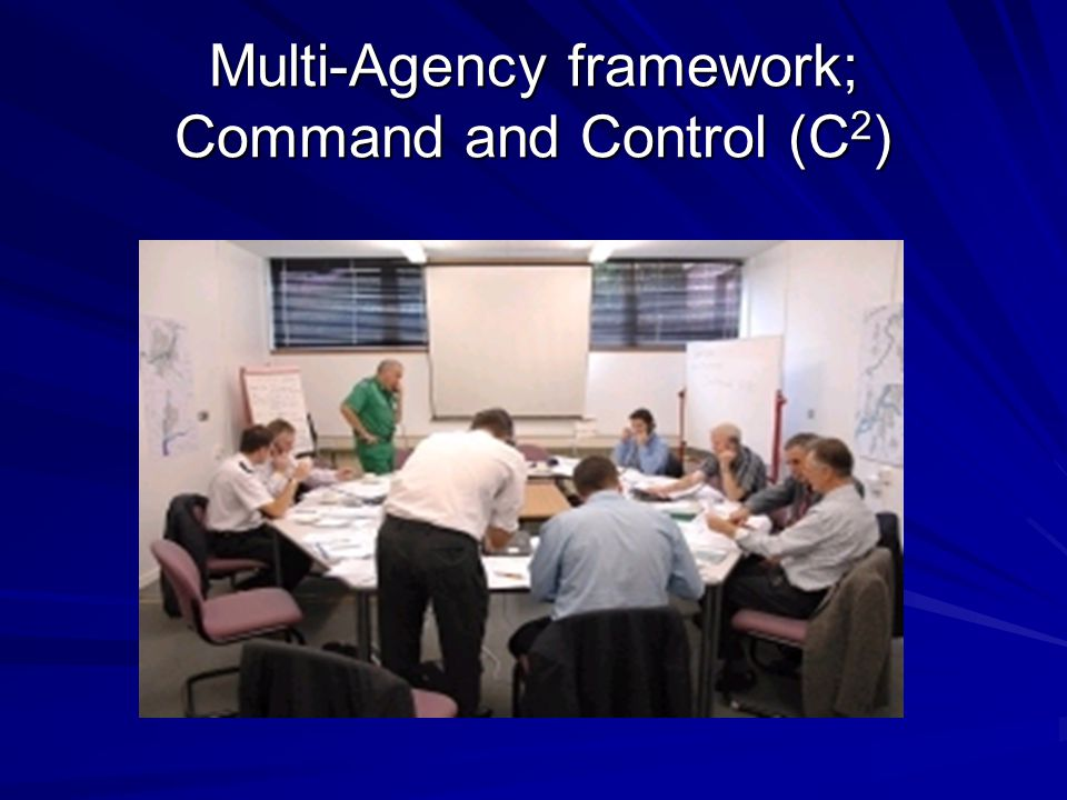 Multi-Agency framework; Command and Control (C 2 )