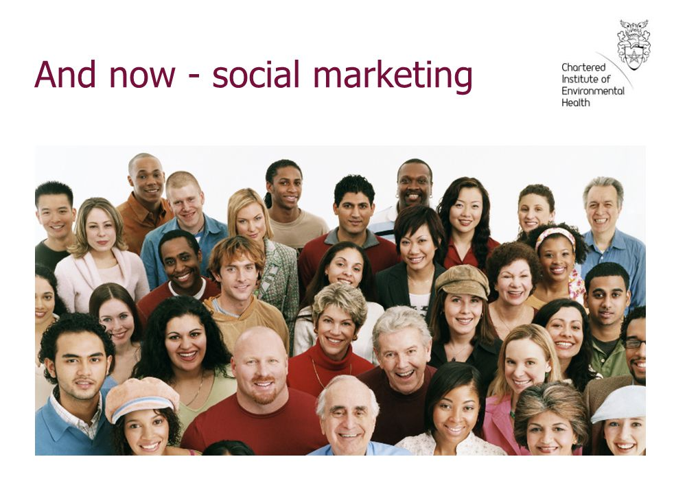 And now - social marketing