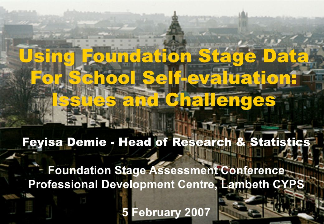 FSP Data can be used in a number of ways to: Support school self-evaluation.