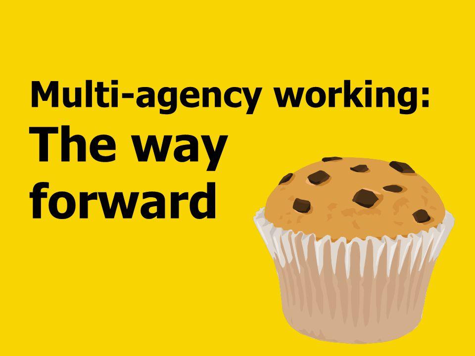 Multi-agency working: The way forward