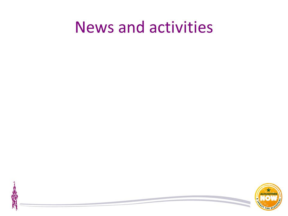News and activities
