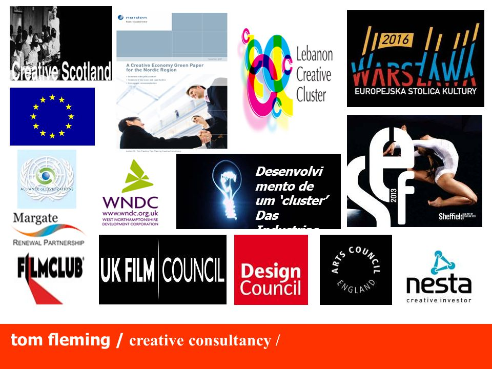 tom fleming / creative consultancy / Five Opportunities; Three Considerations