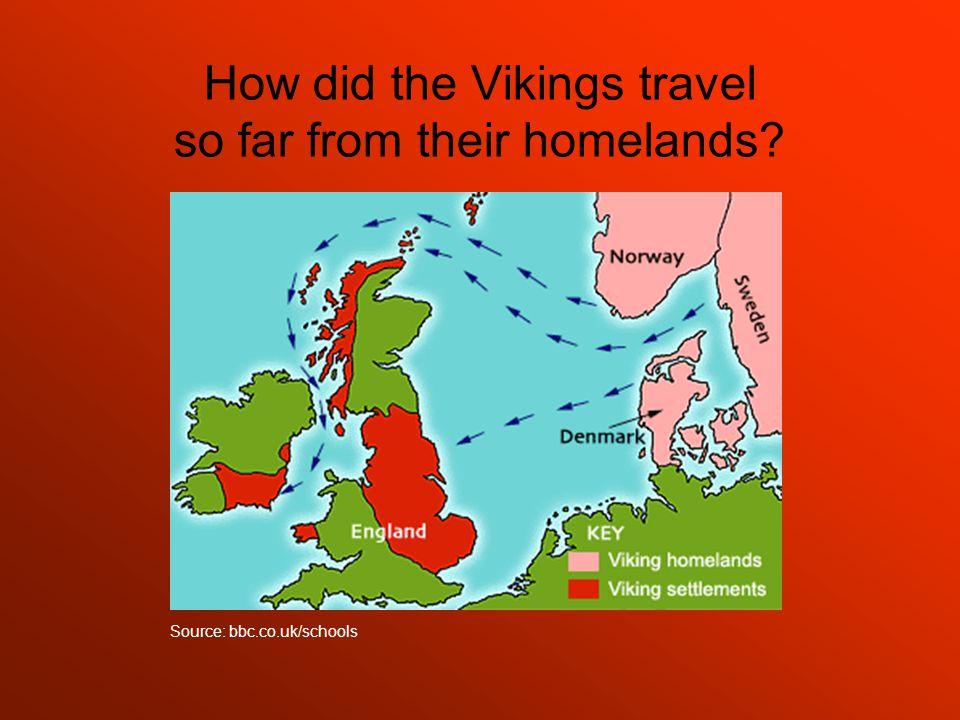 The Viking longboat