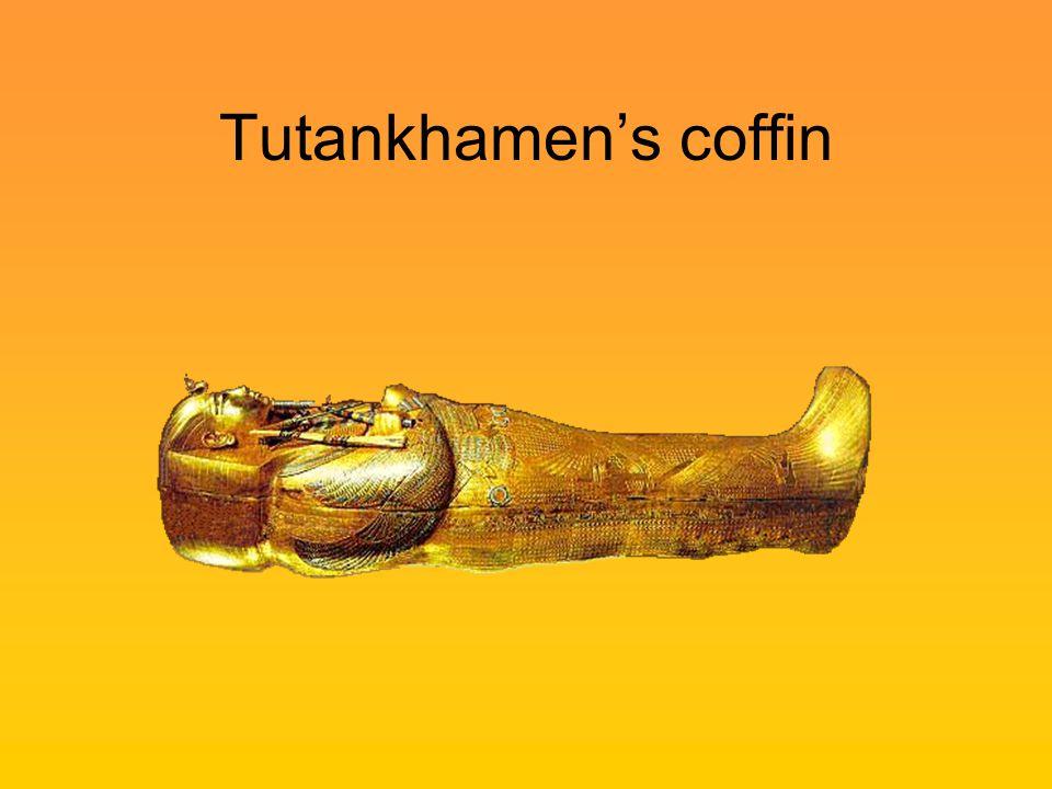 Tutankhamen's coffin