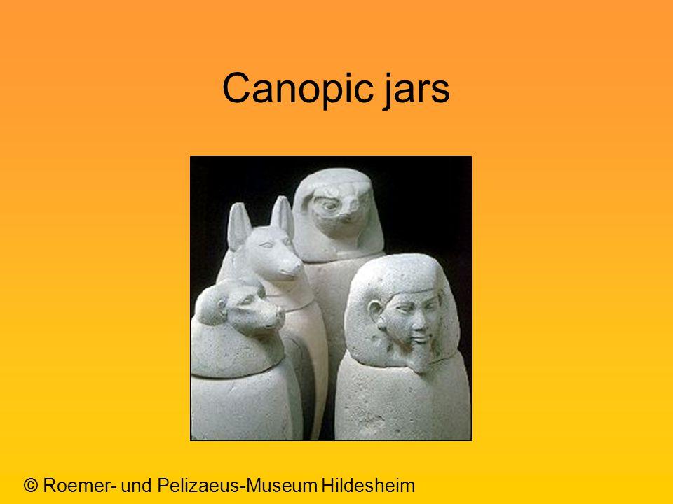 Canopic jars © Roemer- und Pelizaeus-Museum Hildesheim