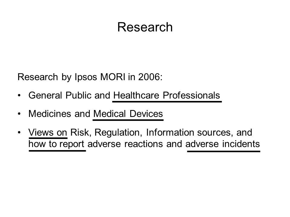 Slide 13 © QUESTION A medical colleague thinks an adverse incident ought to be reported.