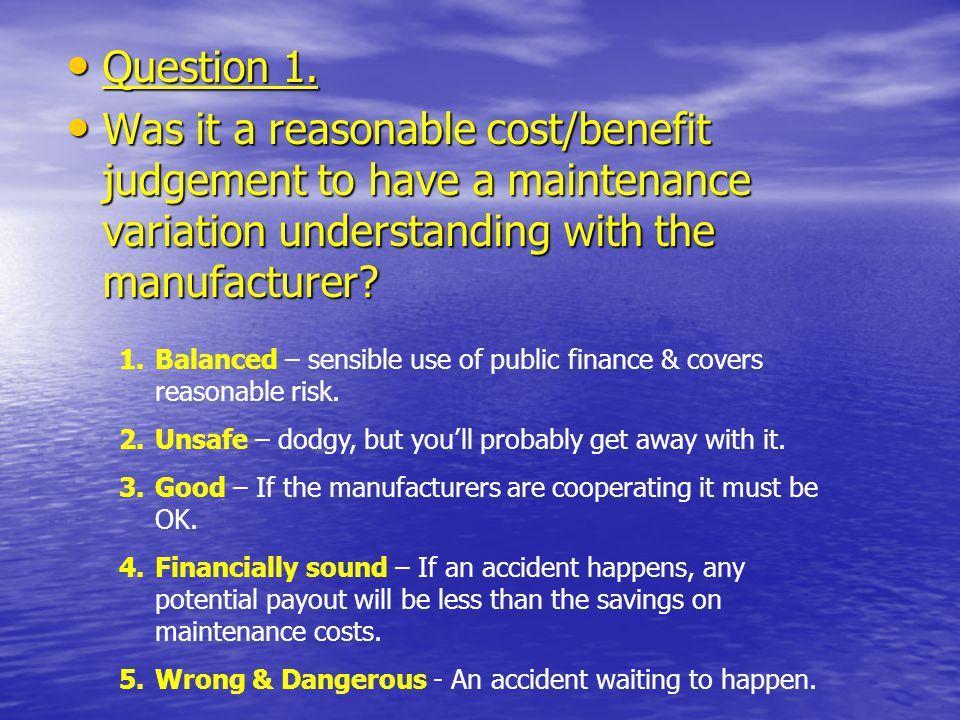 Question 1. Question 1.