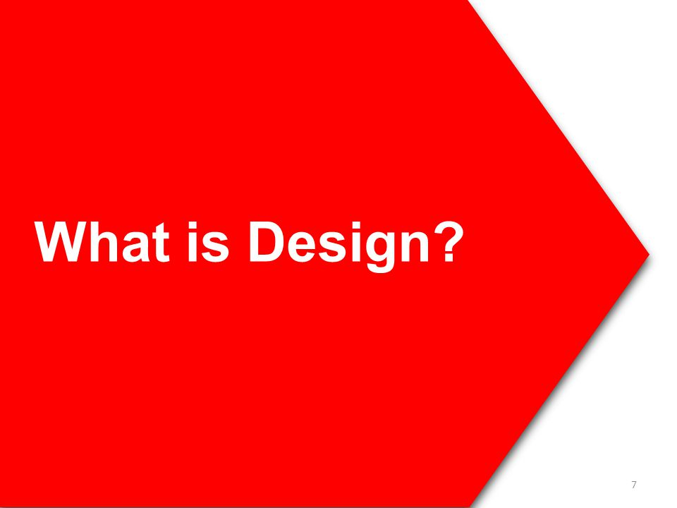 What is Design? 7