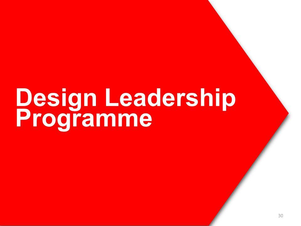 Design Leadership Programme 30
