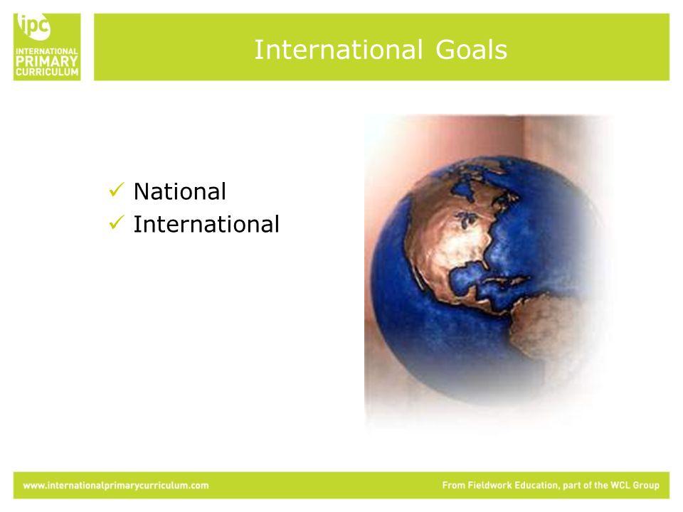 National International International Goals