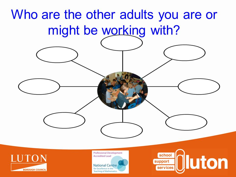 Who are the other adults you are or might be working with?