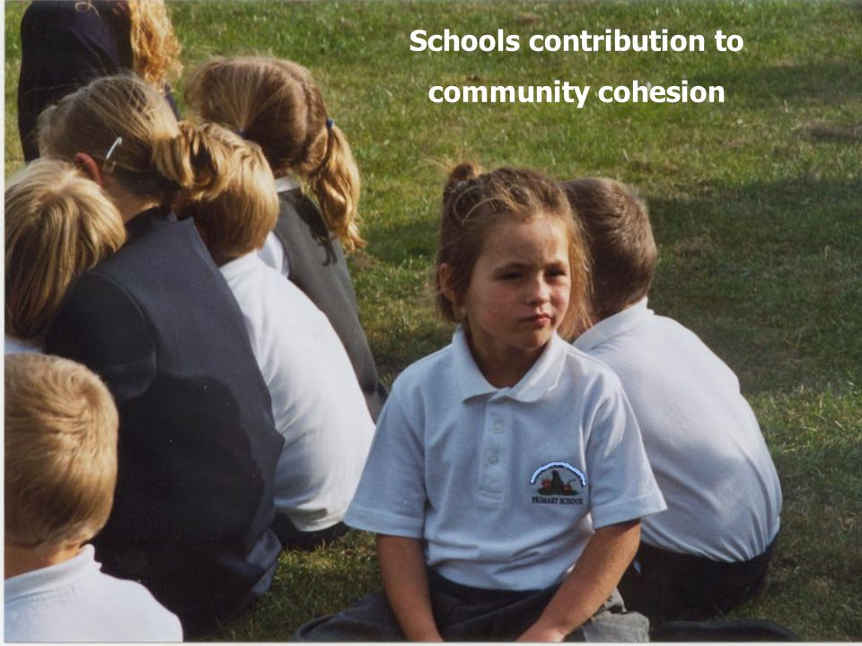 12 Schools contribution to community cohesion