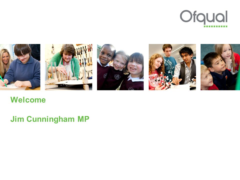 Welcome Jim Cunningham MP