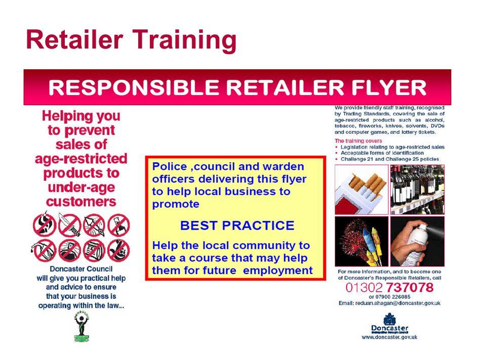 Retailer Training