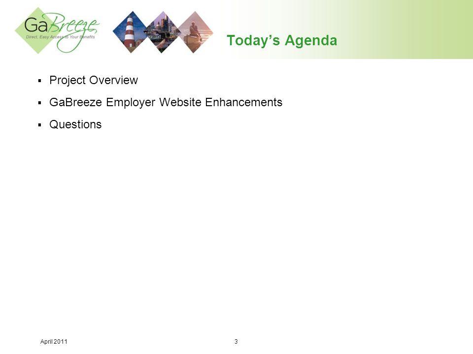 April 2011 14 Employer Website Enhancement #3 (Continued):