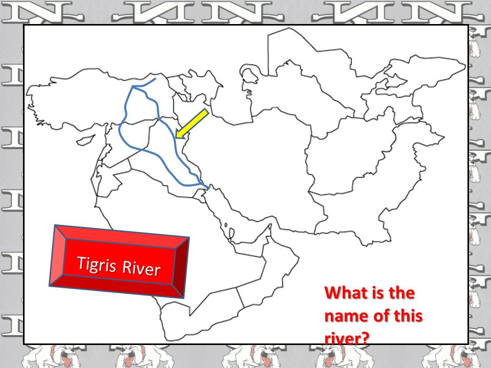 What is the name of this river? Tigris River