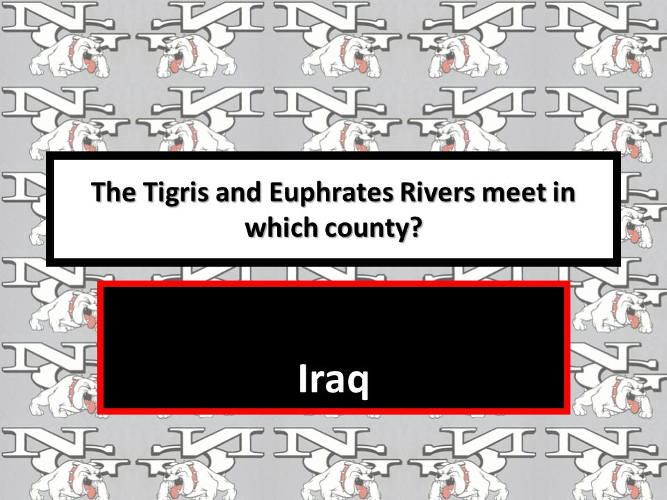 The Tigris and Euphrates Rivers meet in which county? Iraq