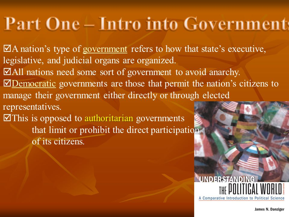  A presidential form of democratic government has a president, or chief executive, that is chosen separately from the legislature  The legislature passes the laws, and it is the duty of the president to see that the laws are enforced  The president holed power separately from the legislature, but he does not have the power to dismiss the legislature or force them to make particular laws  The president is the official head of the government  The legislature does not have the power to dismiss the president, except in extreme cases when the president has broken a law  The president is BOTH the lead of state and the head of the government