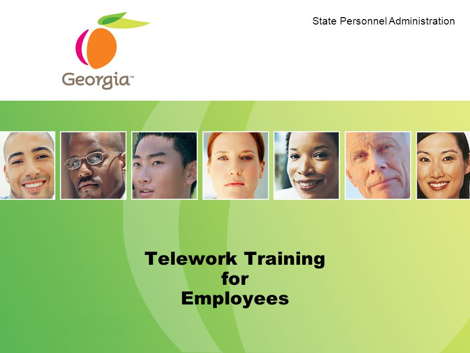 Why Training?/Objectives Review Telework requirements.