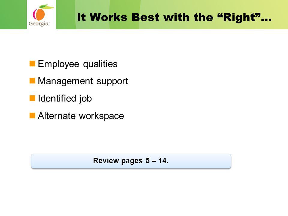 Why Telework.Organizational effectiveness. Employee productivity.