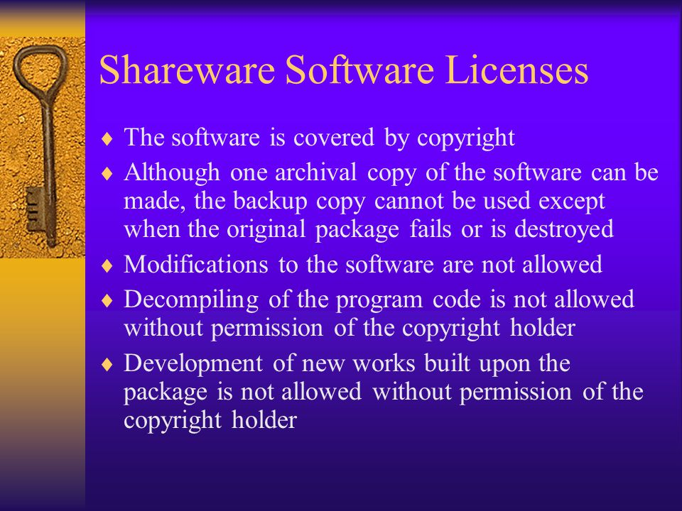  Unauthorized copying of software is ILLEGAL.  Unauthorized copying of software affects the academic community as a whole.  Unauthorized copying of