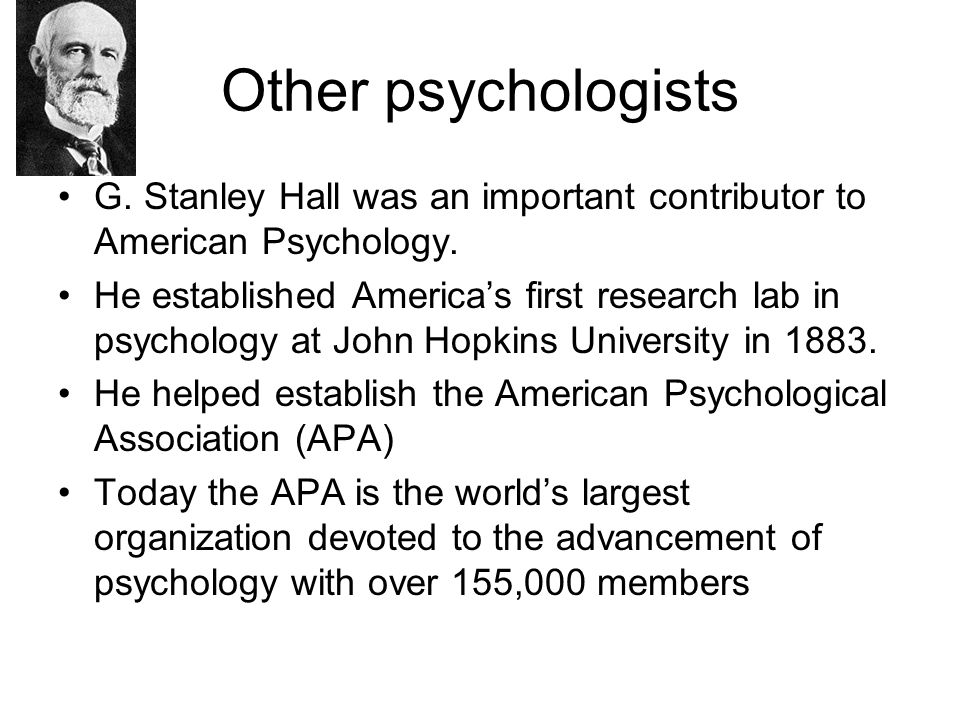 Types of Professions Clinical Psychology-makes up 69% of the profession.