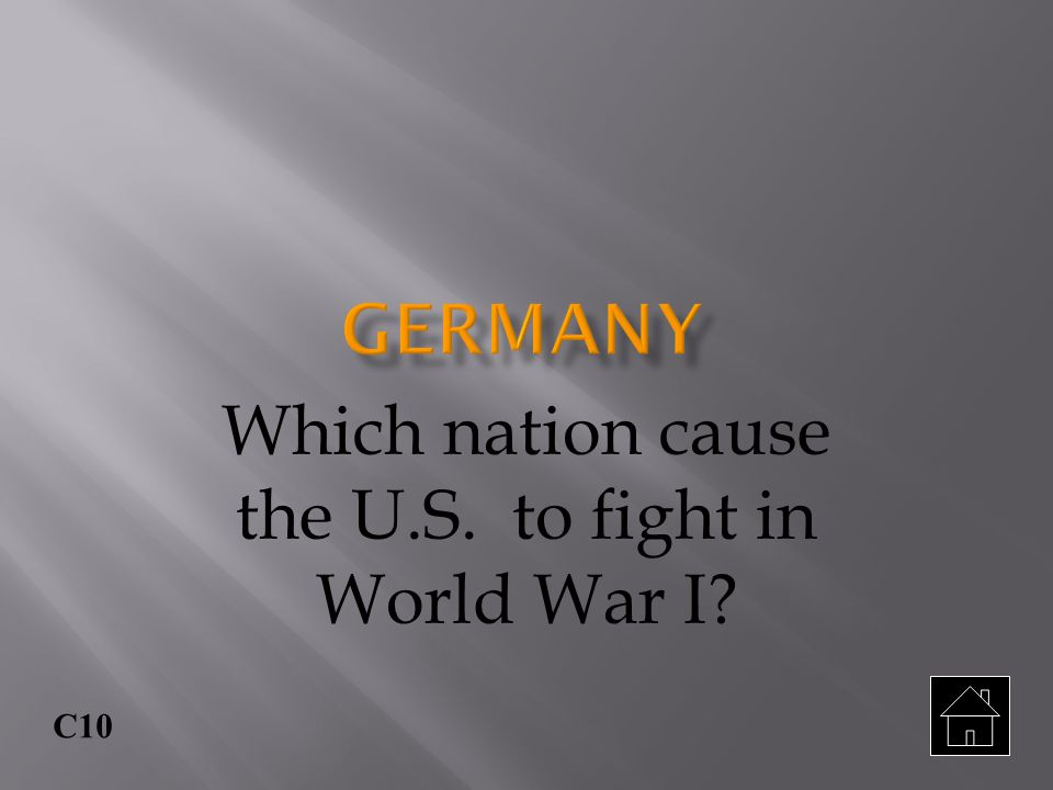 C9 Why were Germany and Austria Hungary called the Central Powers?