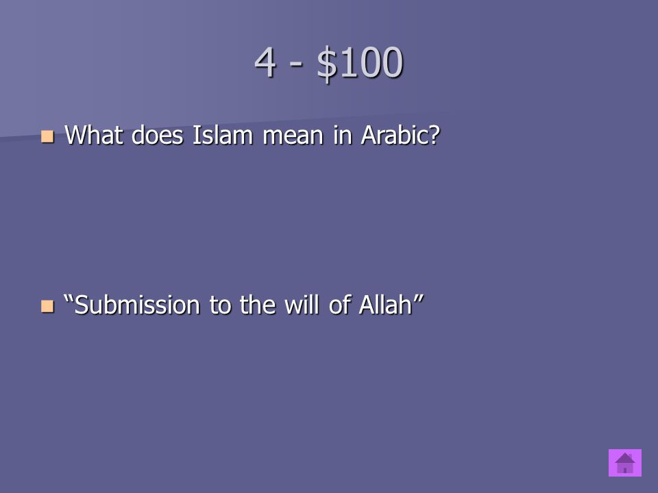 3 - $500 What do Muslims believe about Muhammad. What do Muslims believe about Muhammad.
