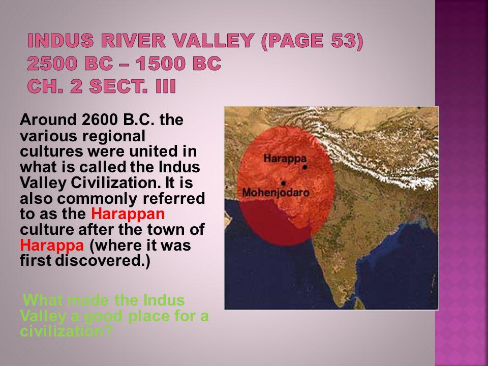 Around 2600 B.C.