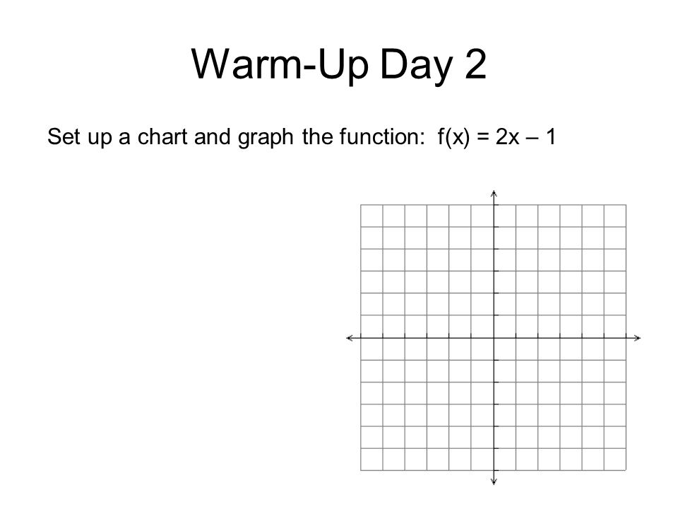 Warm-Up Day 3 No Warm-Up! Prepare for test. Sit quietly and review until tests are passed out.