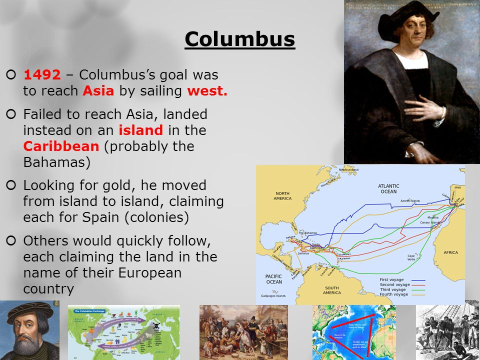 Spanish Conquest (Mexico)  1519 – Hernando Cortes lands in Mexico in search of gold.