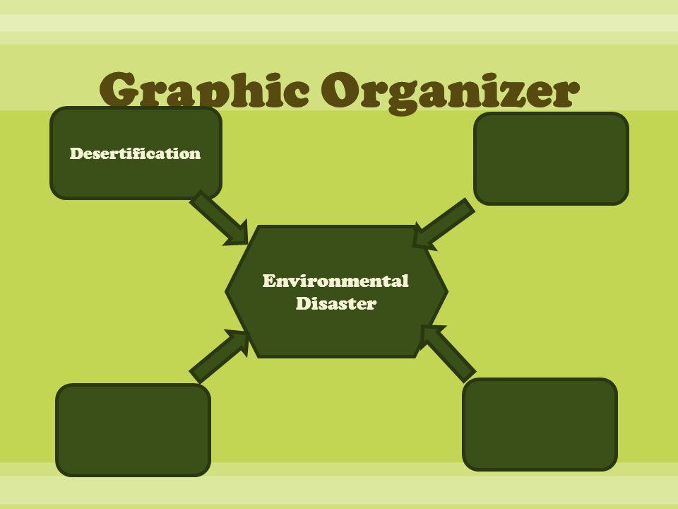 Environmental Disaster Desertification