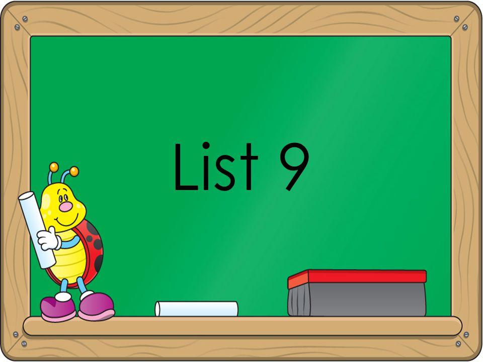 List 9