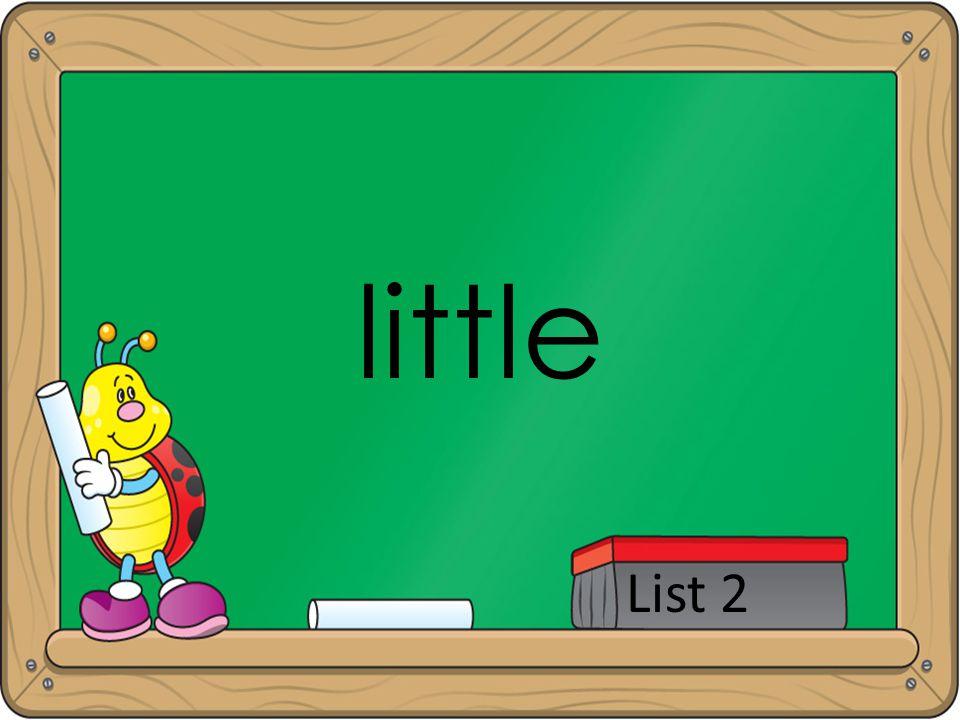 little List 2