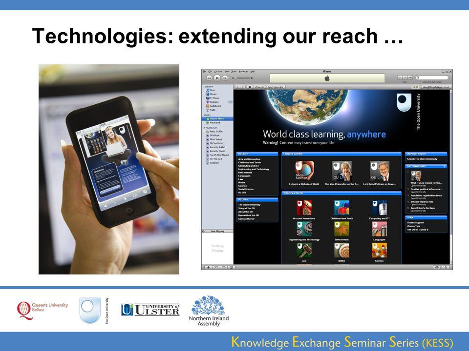 A multi-platform 'learning journey'