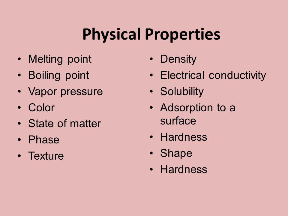 2 What are properties.