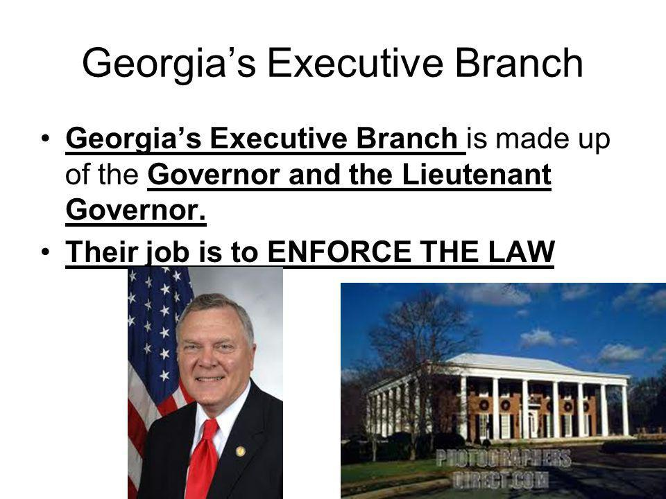 Governor's Responsibility Enforce the law Propose an annual state budget Veto legislation Appoint members to state boards Balancing budget – can't spend more money than you earn!.