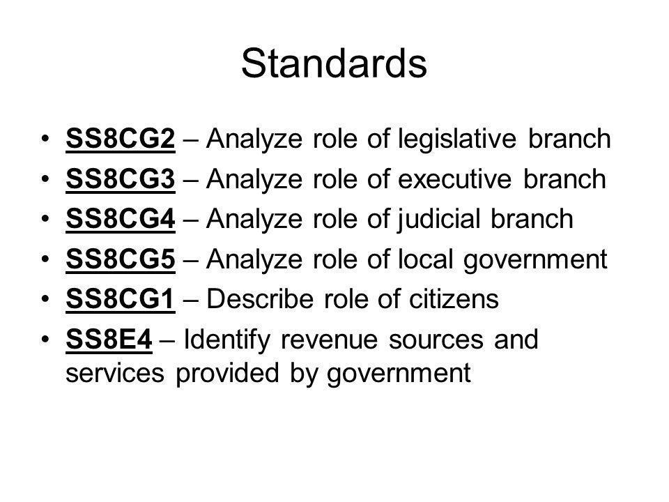 Standards SS8H12 – Explain importance of social, economic and political developments since 1970 SS8CG6 – Explain how court treats juveniles